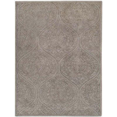 Pigg Hand-Tufted Light Gray Area Rug Rug Size: Rectangle 76 x 96