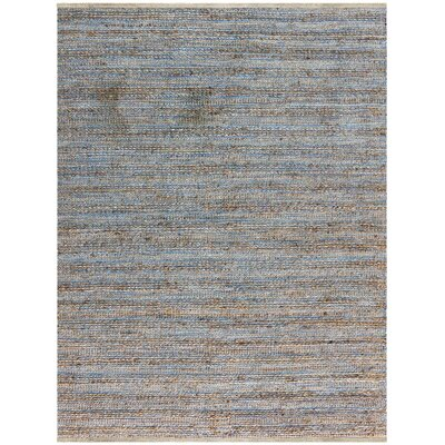 Lantz Flat-Weave Blue Area Rug Rug Size: Rectangle 2 x 3