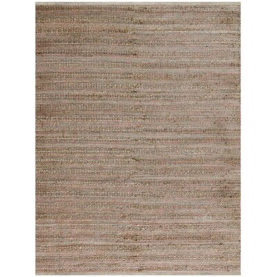 Williamson Flat-Weave Pink Area Rug Rug Size: 8 x 10