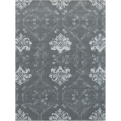 Zada Hand-Tufted Silver Sand Area Rug Rug Size: Rectangle 5 x 8