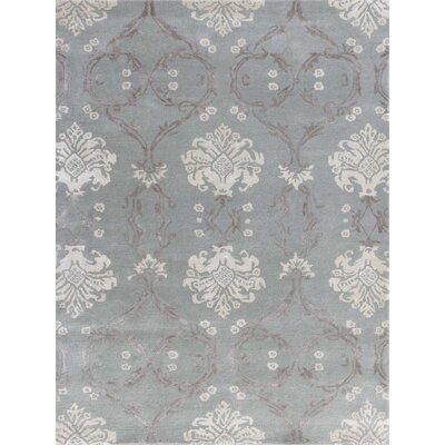 Zada Hand-Tufted White Ice Area Rug Rug Size: Rectangle 76 x 96