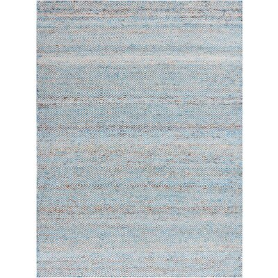 Onasander Hand-Tufted Aqua Area Rug Size: Rectangle 4 x 6