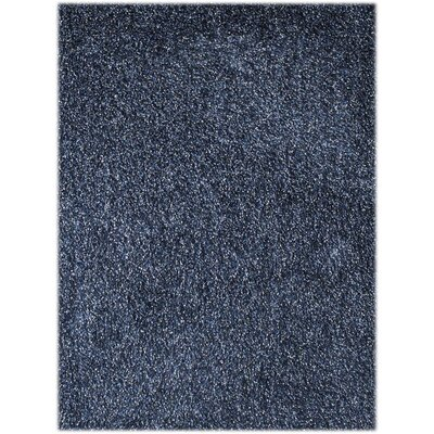 Bright Blue Area Rug Rug Size: Rectangle 76 x 96