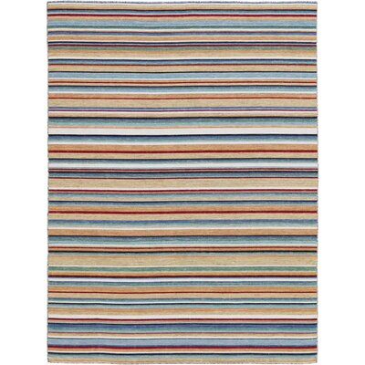 Cavanaugh Flat-Weave Multicolored Area Rug Rug Size: Rectangle 5 x 8