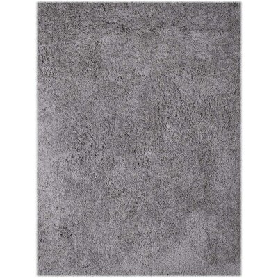 Illustrations Gray Area Rug Rug Size: 5 x 76