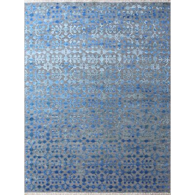 Joy Hand-Tufted Blue Area Rug Rug Size: 6 x 9
