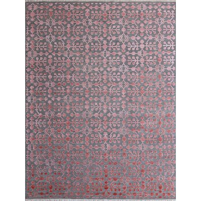 Joy Hand-Tufted  Blush Area Rug Rug Size: 9 x 12
