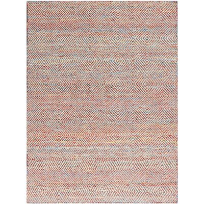 Onasander Hand-Tufted Rainbow Area Rug Size: Rectangle 4 x 6
