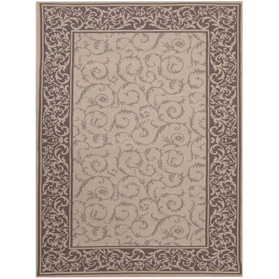 Eberhardt Hand-Tufted Beige Area Rug Rug Size: Rectangle 5 x 76