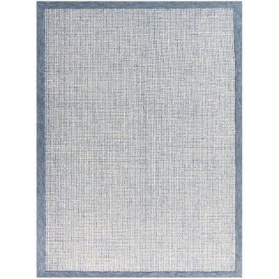Caravelle Hand-Tufted Aqua Area Rug Rug Size: Rectangle 76 x 96