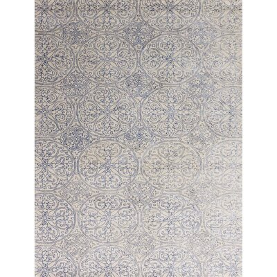 Serendipity Hand-Tufted Ink Blue Area Rug Rug Size: 76 x 96