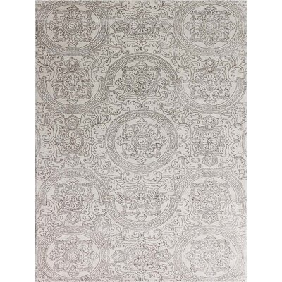 Pigg Hand-Tufted Sand Area Rug Rug Size: Rectangle 76 x 96