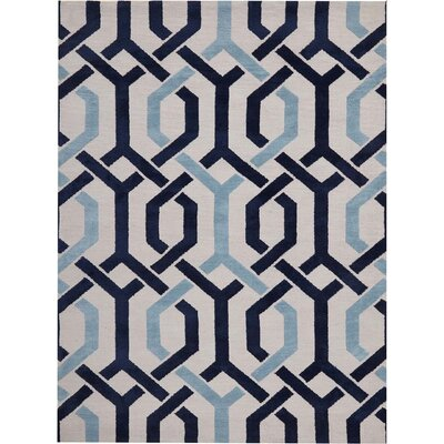 Stoke-on-Trent Hand-Tufted Ivory Area Rug Rug Size: Rectangle 3 x 5