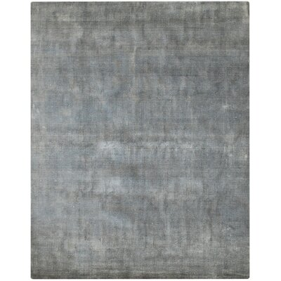 Pure Essence Gray Area Rug Rug Size: 9 x 12
