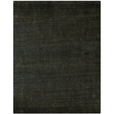 Pure Essence Ebony Area Rug Rug Size: 5 x 8