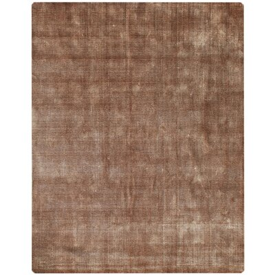 Pure Essence Brown Area Rug Rug Size: 5 x 8