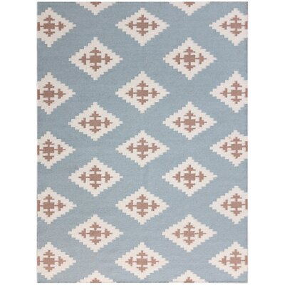 Pietsch Light Blue Area Rug Rug Size: 8 x 10