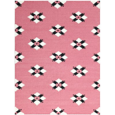 Pietsch Pink Area Rug Rug Size: 3 x 5