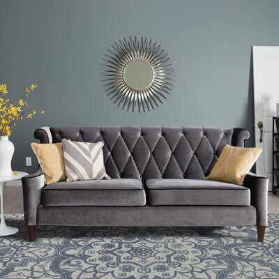 Pembroke Hand-Tufted Floral Gray Area Rug Rug Size: 8 x 11