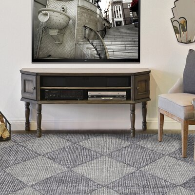 Cargan Neutral Hand-Tufted Gray Area Rug Rug Size: 76 x 96