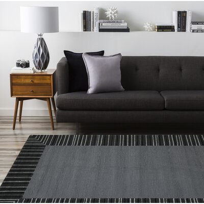 Oakham Gray Indoor/Outdoor Area Rug Rug Size: 4 x 6