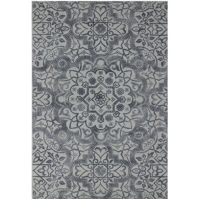 Pembroke Hand-Tufted Gray Area Rug Rug Size: 8 x 11