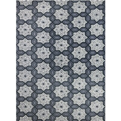 Ascent Hand-Tufted Gray Area Rug Rug Size: 5 x 8