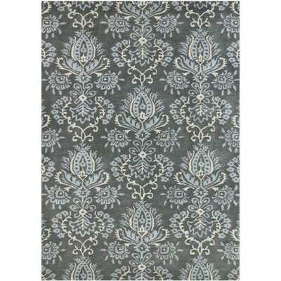 Kaydence Hand-Tufted Gray Area Rug Rug Size: Rectangle 76 x 96