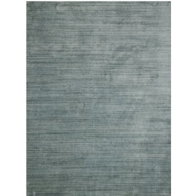 Adamsburg Hand-Woven Blue Area Rug Rug Size: 5 x 8