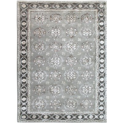 Urban Hand-Tufted Gray Area Rug Rug Size: 2' x 3'