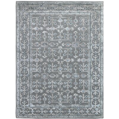 Urban Hand-Tufted Blue Area Rug Rug Size: 76 x 96