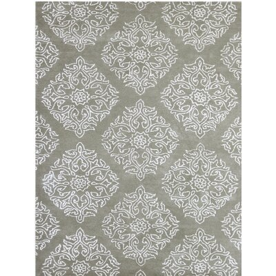 Serendipity Hand-Tufted Beige Area Rug Rug Size: 76 x 96