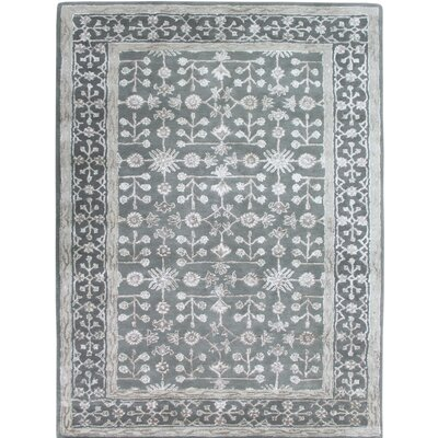 Urban Hand-Tufted Gray Area Rug Rug Size: 5 x 8