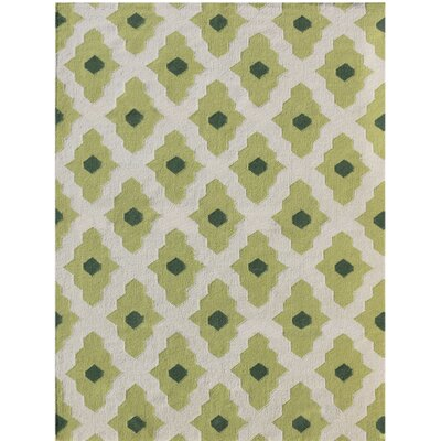 Pietsch Green Area Rug Rug Size: 2 x 3