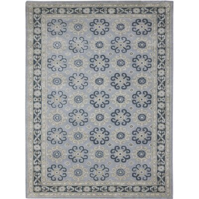 Paxtonville Hand-Tufted Blue Area Rug Rug Size: 2 x 3