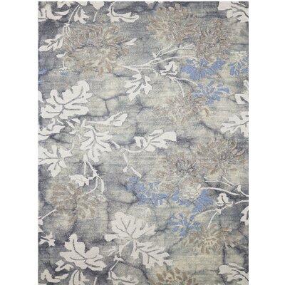 Kanoka Hand-Tufted Beige/Gray Area Rug Rug Size: 76 x 96