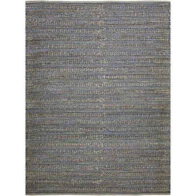 Williamson Hand-Woven Navy Area Rug Rug Size: 3 x 5