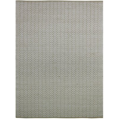 Bertrand Hand-Woven Beige Area Rug Rug Size: Rectangle 8 x 10