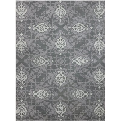 Kaydence Hand-Tufted Blue Area Rug Rug Size: Rectangle 76 x 96