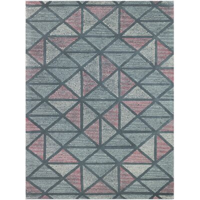 Callista Hand-Tufted Pink/Green Area Rug Rug Size: Rectangle 76 x 96