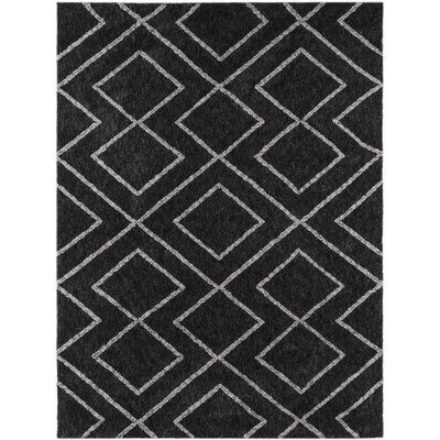 Heimbach Graphite Area Rug Rug Size: Rectangle 5 x 75