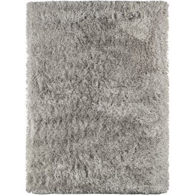 Sarina Light Gray Area Rug Rug Size: Rectangle 7 6 x 9 6