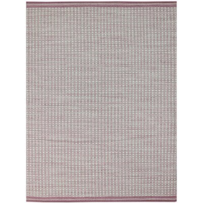 Latimer Hand-Woven Pink Area Rug Rug Size: Rectangle 5 x 8