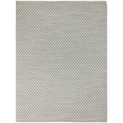 Willing Modern Hand-Woven Beige Area Rug Rug Size: 2 x 3
