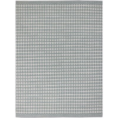 Willing Modern Hand-Woven Sea Foam Area Rug Rug Size: 5 x 8