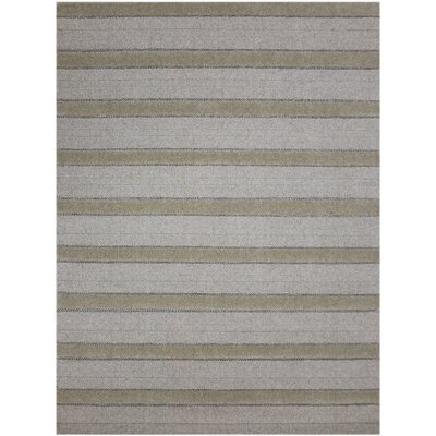 Delaney Modern Hand-Woven Natural Area Rug Rug Size: 8 x 10