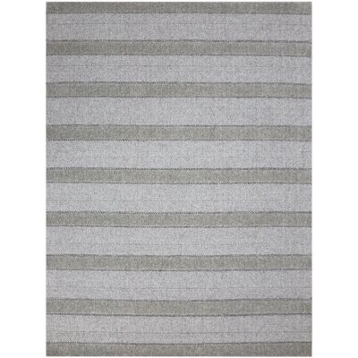 Dumont Modern Hand-Woven Beige Area Rug Rug Size: Rectangle 9 x 12