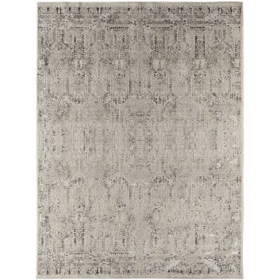 Cadence Transitional Ivory Area Rug Rug Size: 5 3 x 7 7