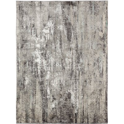 Cadence Transitional Gray Area Rug Rug Size: Rectangle 4 x 5 7