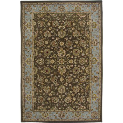 Parishville Brown Hand-Tufted Rug Rug Size: Rectangle 2 x 3